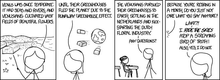 Spotlight Effect Comic