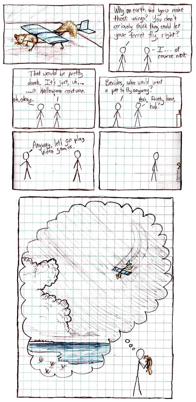 20: Ferret - explain xkcd