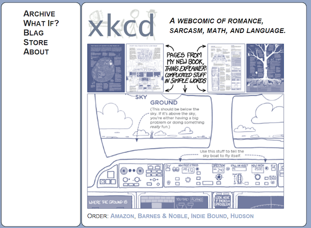 Thing Explainer promoted on xkcd.PNG