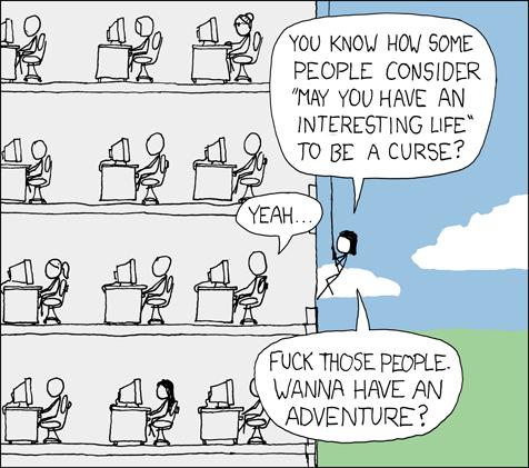308: Interesting Life - explain xkcd