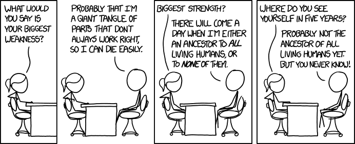 1545: Strengths and Weaknesses - explain xkcd