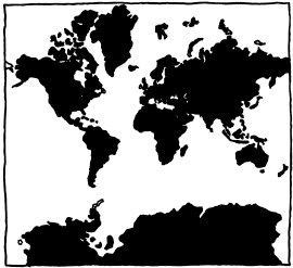 977 map projections explain xkcd the mercator projection gumiabroncs Image collections