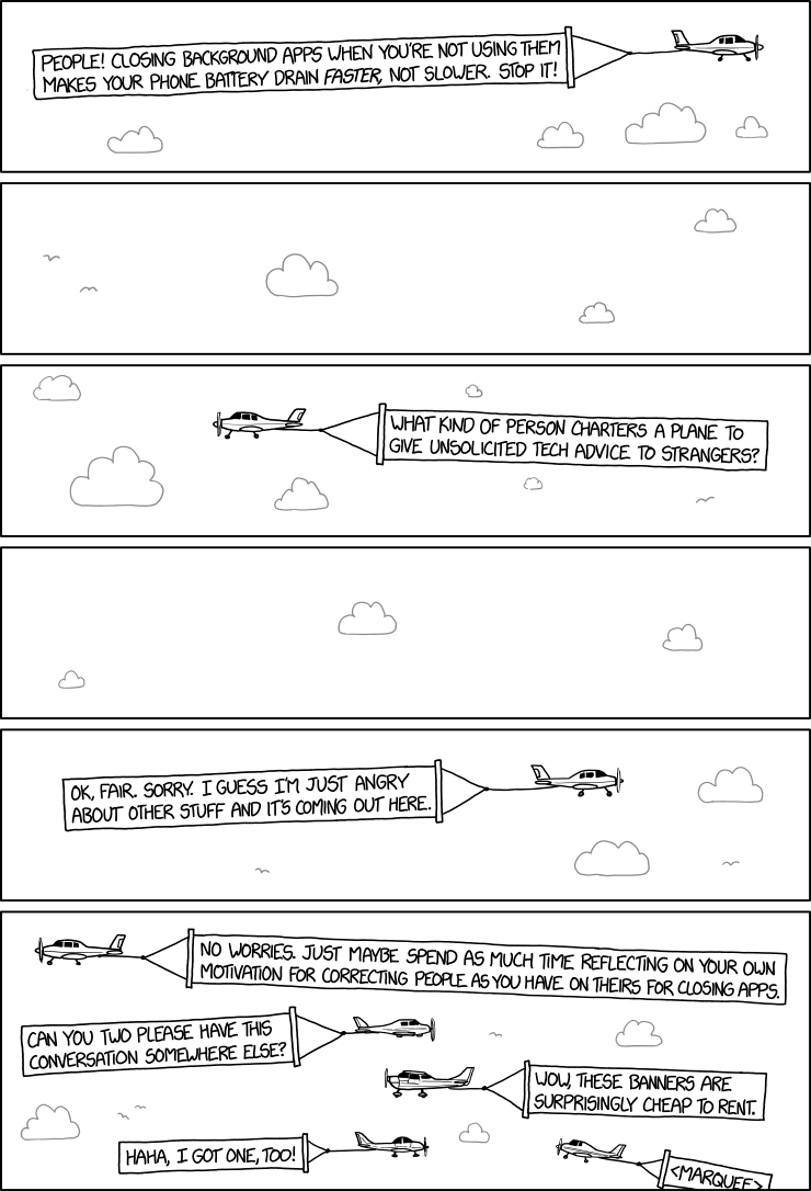 1965: Background Apps - explain xkcd
