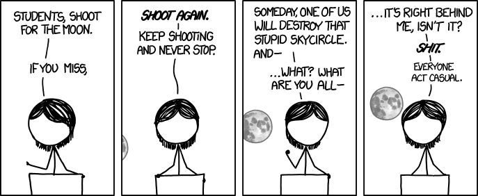 1291 Shoot For The Moon Explain Xkcd