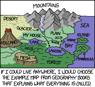1472 geography explain xkcd the place id least like to live is the farm in the background of gumiabroncs