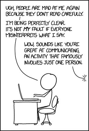 1984: Misinterpretation - explain xkcd
