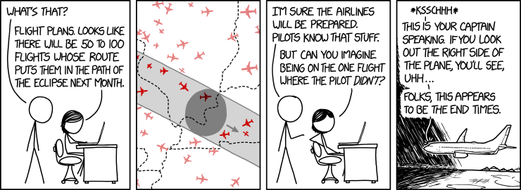 1868: Eclipse Flights - explain xkcd
