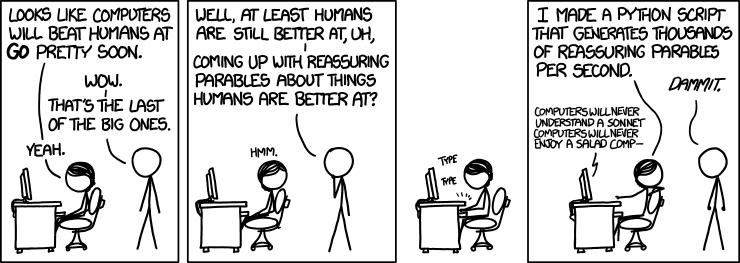 1263: Reassuring - explain xkcd