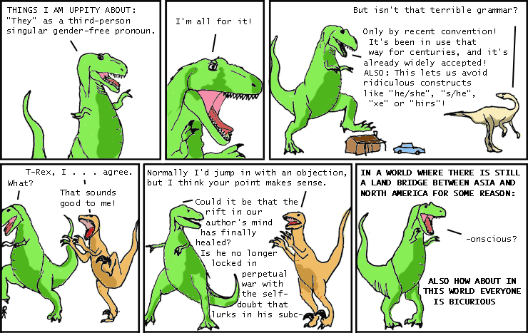 145: Parody Week: Dinosaur Comics - explain xkcd