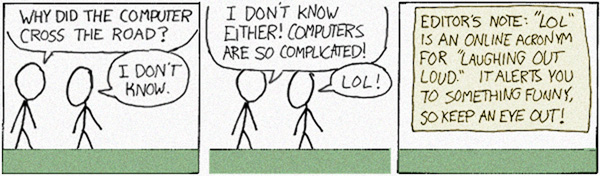 Complaints should be directed to the xkcd writing staff.