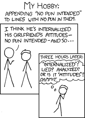 559: No Pun Intended - explain xkcd