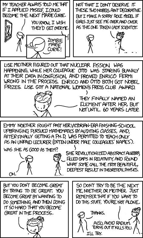 896 marie curie explain xkcd although not permanently urtaz Image collections
